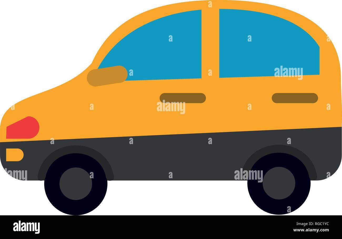Auto Fahrzeug Seitenansicht Stockbild
