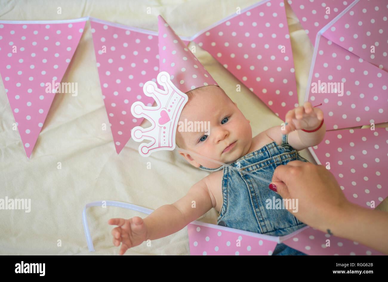 Wir Sind So Glücklich Süße Kleine Baby Neues Leben Und Geburt
