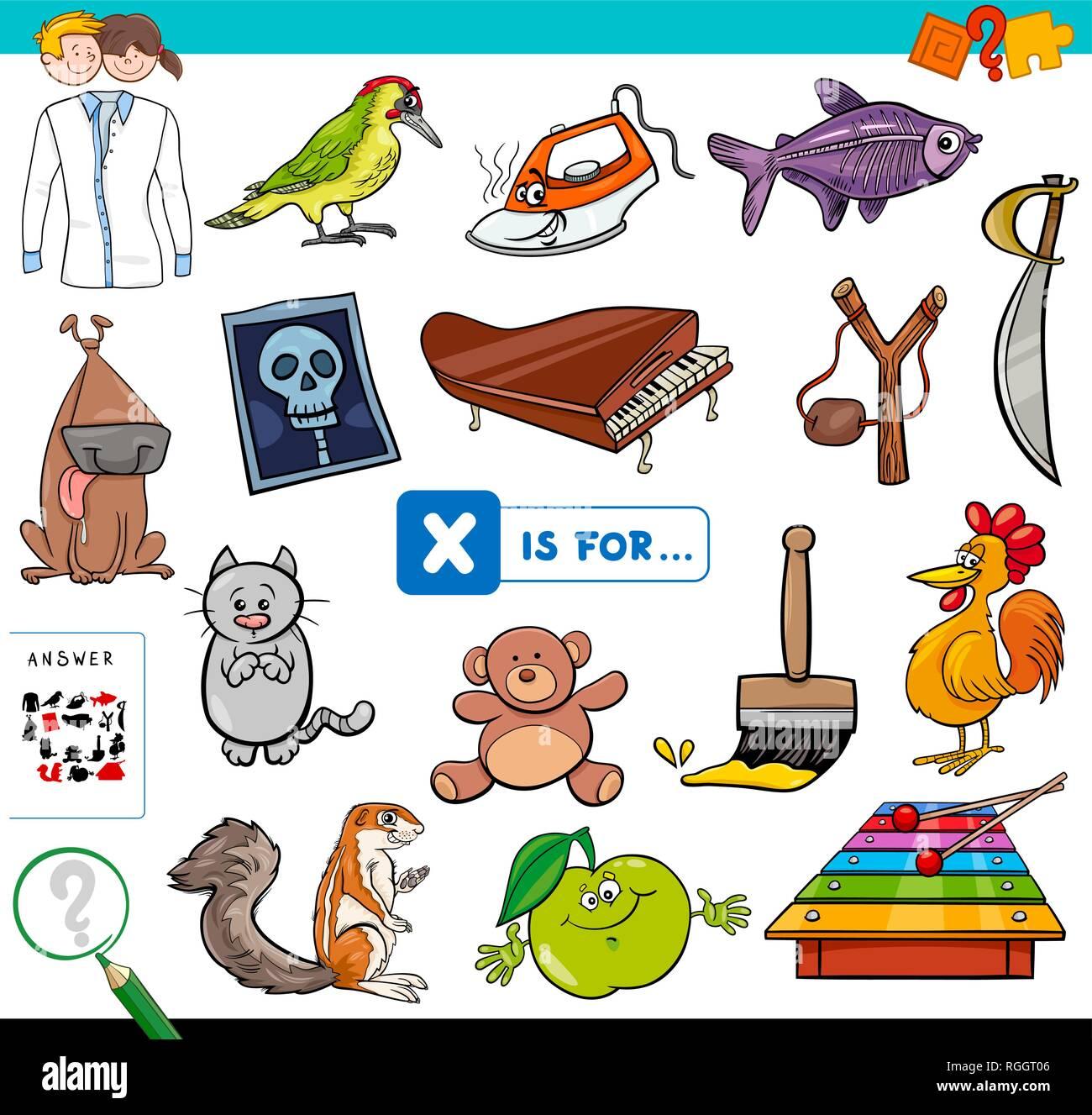 Vorschule Alphabet Arbeitsbuch Stockfotos Vorschule Alphabet