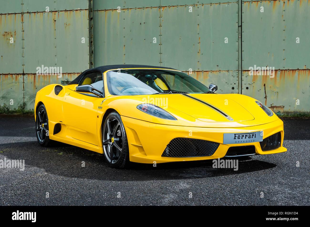 Ferrari F430 Scuderia Spider 16m V 8 Nur 499 Autos Wurden Erbaut Und 2009 Verkauft Ferrari S 16 F1 Konstrukteurs Wm Im Jahr 2008 Zu Gedenken Stockfotografie Alamy