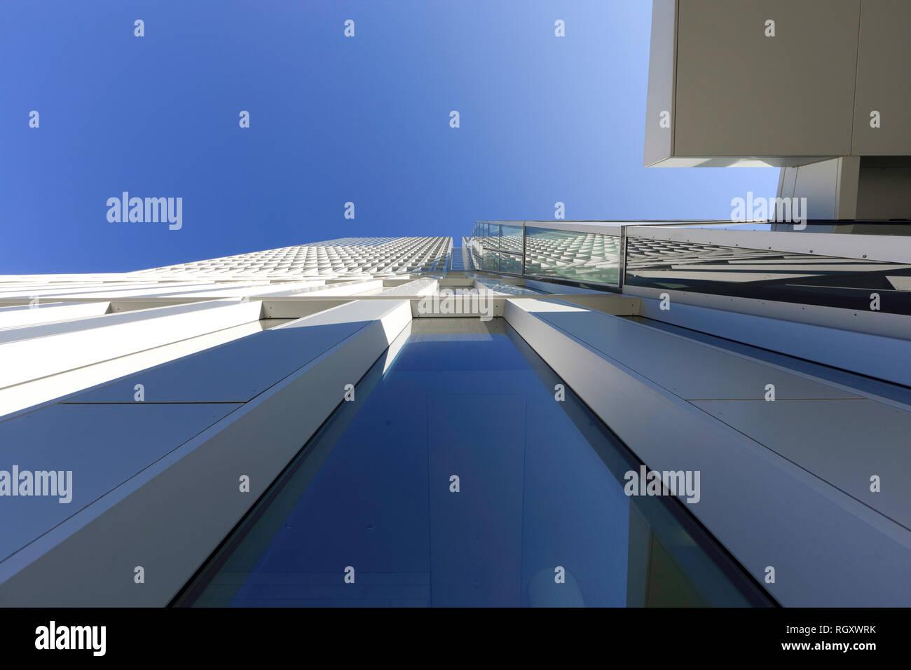 Office Tower im Palais Quartier in Frankfurt am Main, Hessen, Deutschland, Europa Stockbild