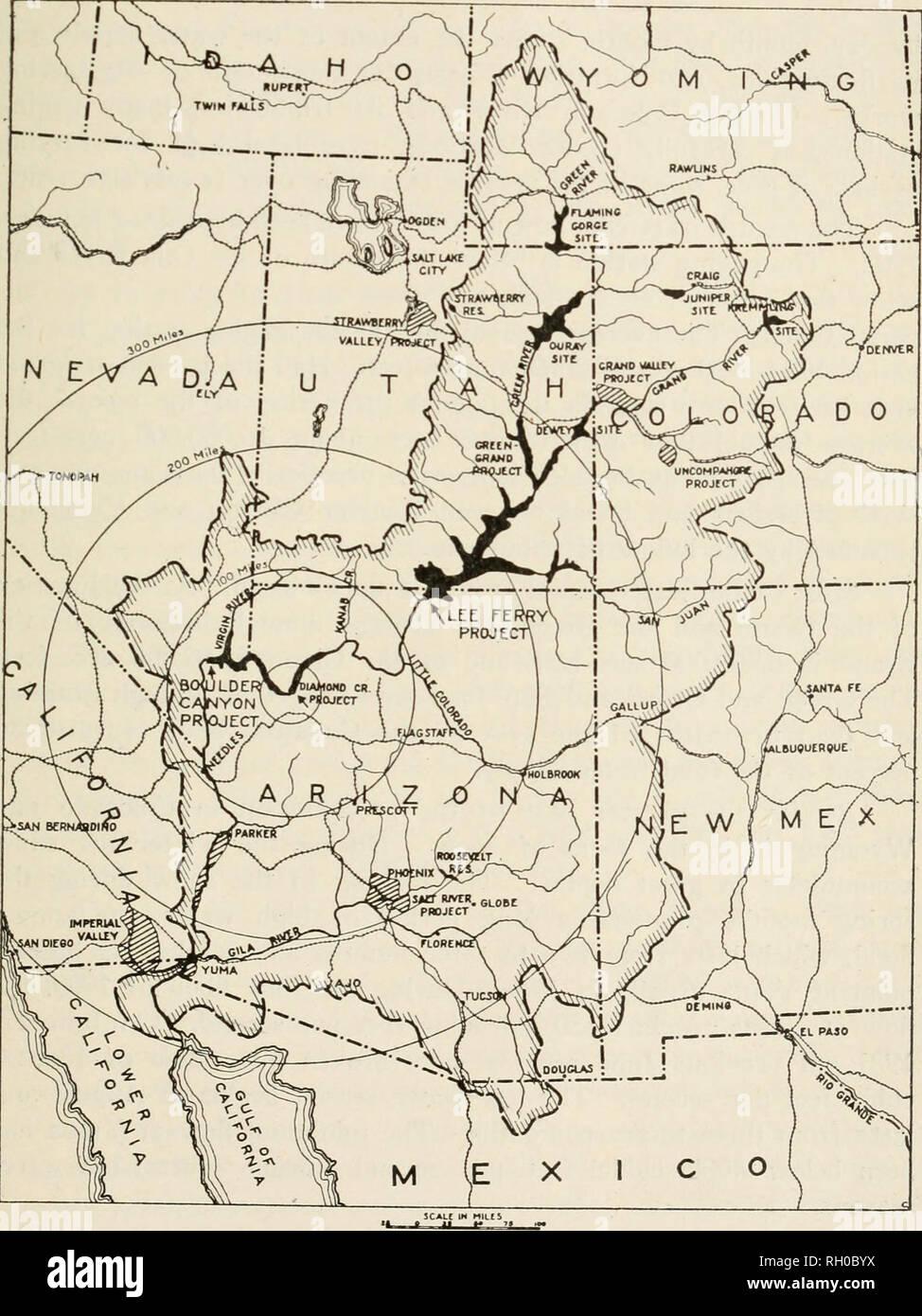 Colorado Karte Fluss.Bulletin Landwirtschaft Landwirtschaft Arizona Der