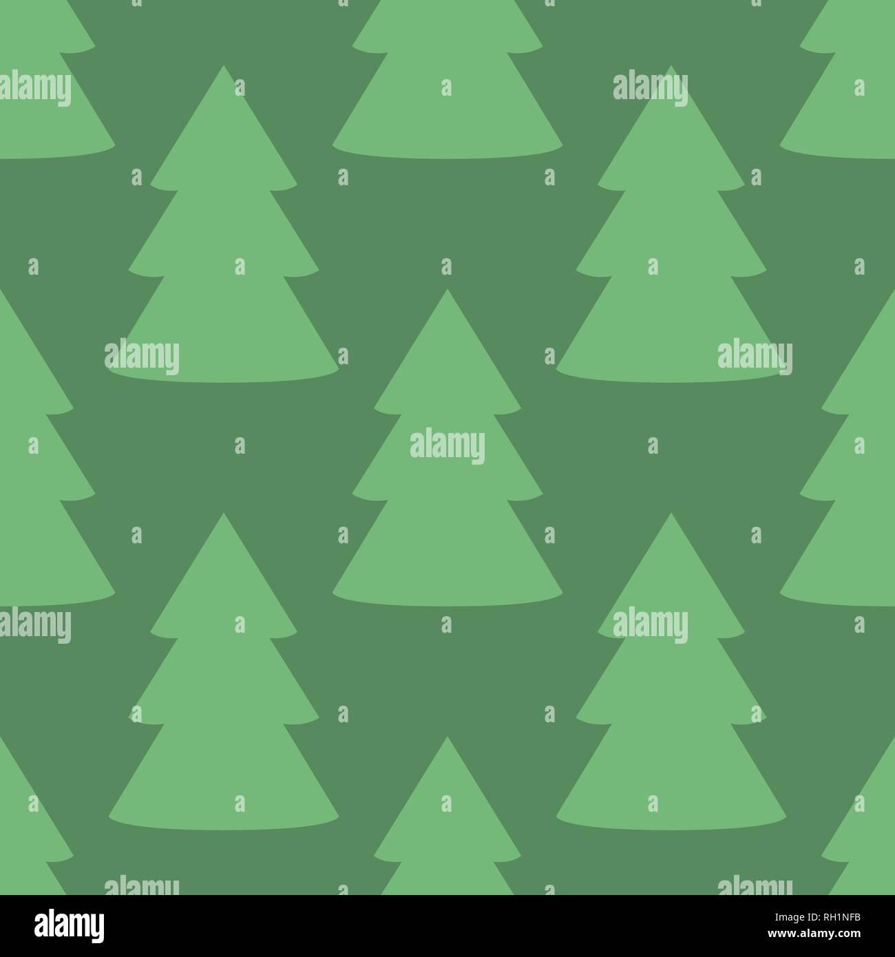 Tannenbaum Muster.Weihnachten Tannenbaum Grün Kunst Nahtlose Muster Vektor Abbildung