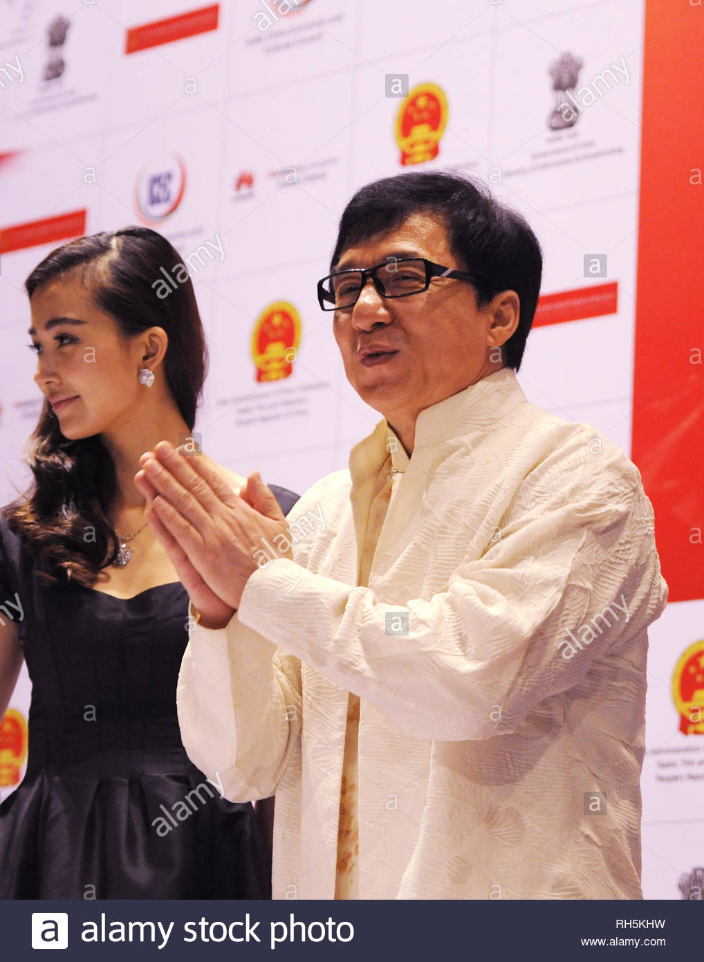 Hong Kong Action - Komödie Schauspieler Jackie Chan mit Co