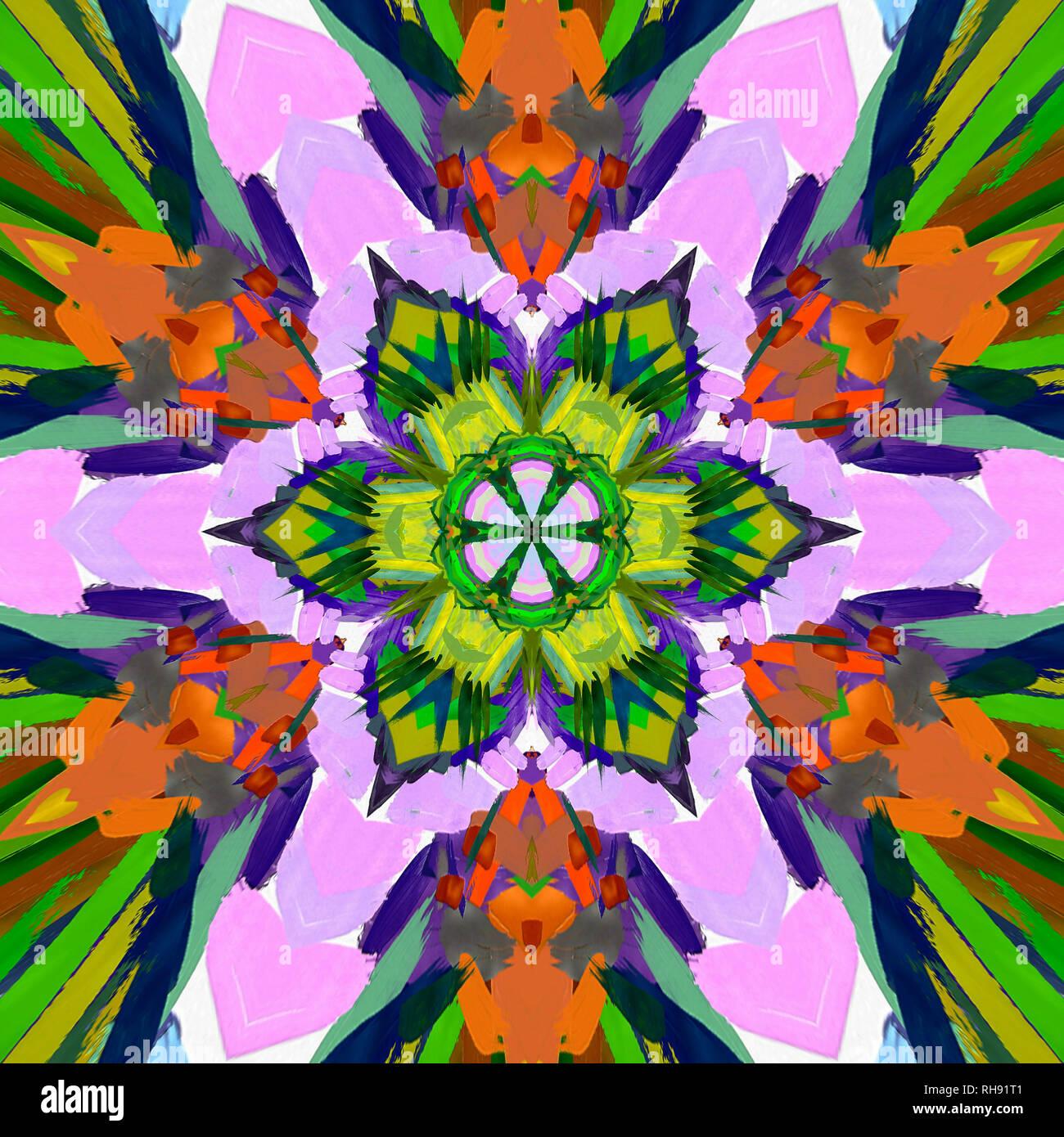 Fraktale Konzeptkunst Abstrakt Design Pattern Artwork