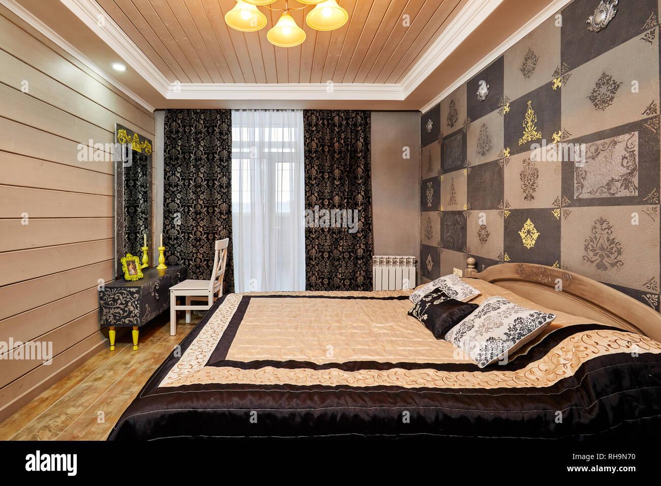 Moskau, Russland, 02.01.2019: Design und Dekoration von modernen ...
