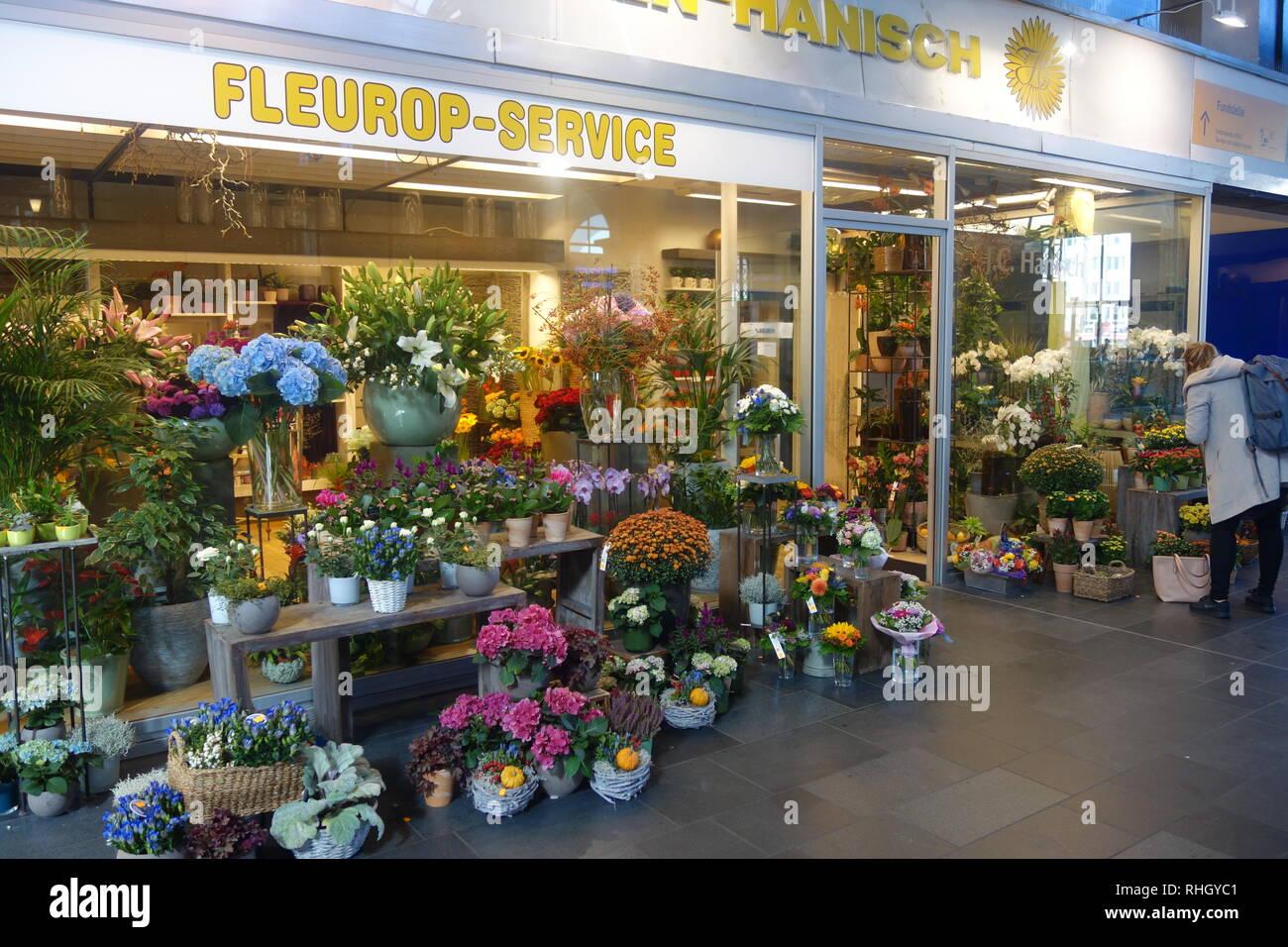 Blumen Köln Hbf