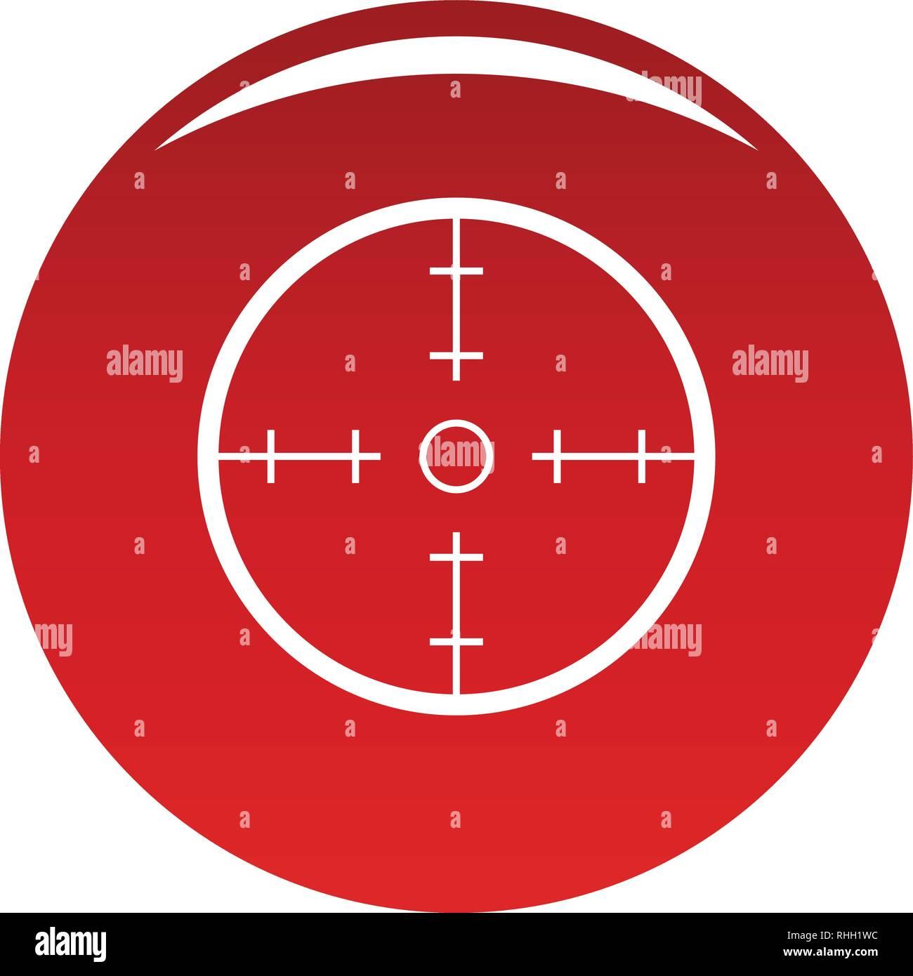 Radar Symbol Einfache Abbildung Von Radar Vektor Icon Für Das