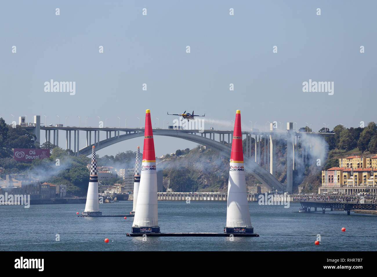 Porto Portugal September 1 2017 Red Bull Air Race Tag Der