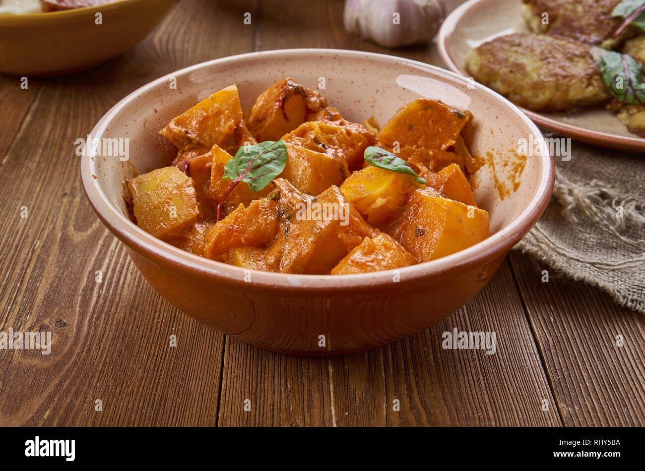 Sitaphal ki Subzi, indische Küche delicios und healhy Rezept mit ...