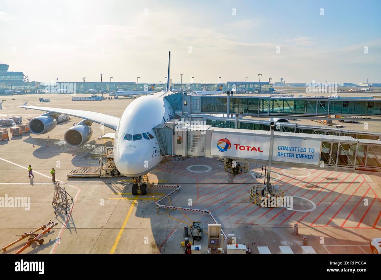 Flugzeug Frankfurt