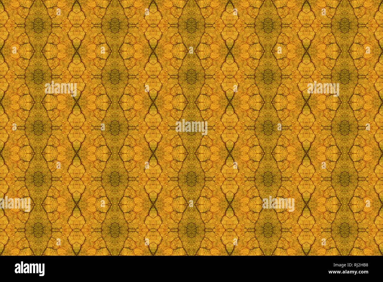 Relativ Dieses Muster wurde von einem Foto einer Herbst Blatt, beleuchtet JJ72