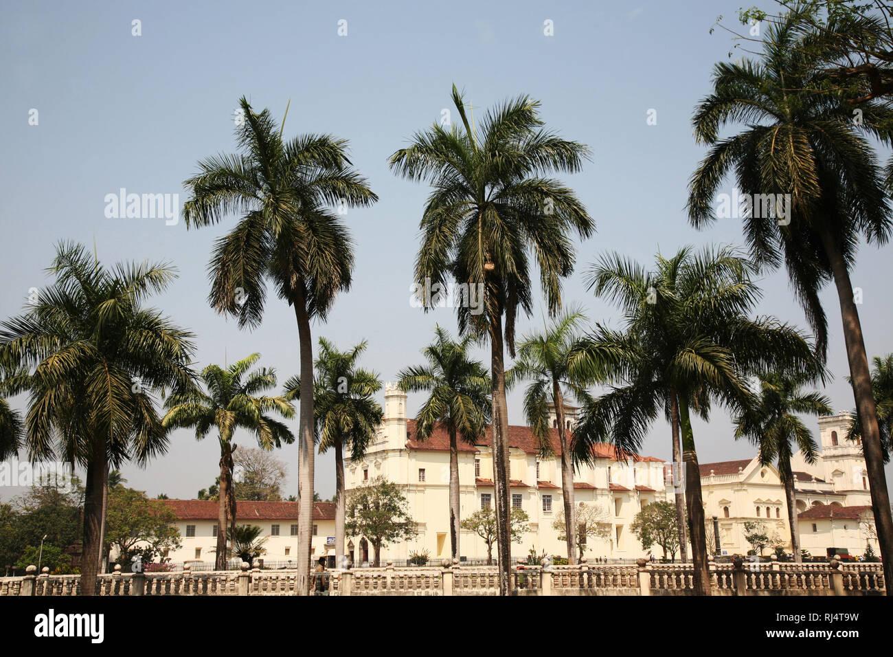 Asien, Indien, Goa Velha Goa Stockbild