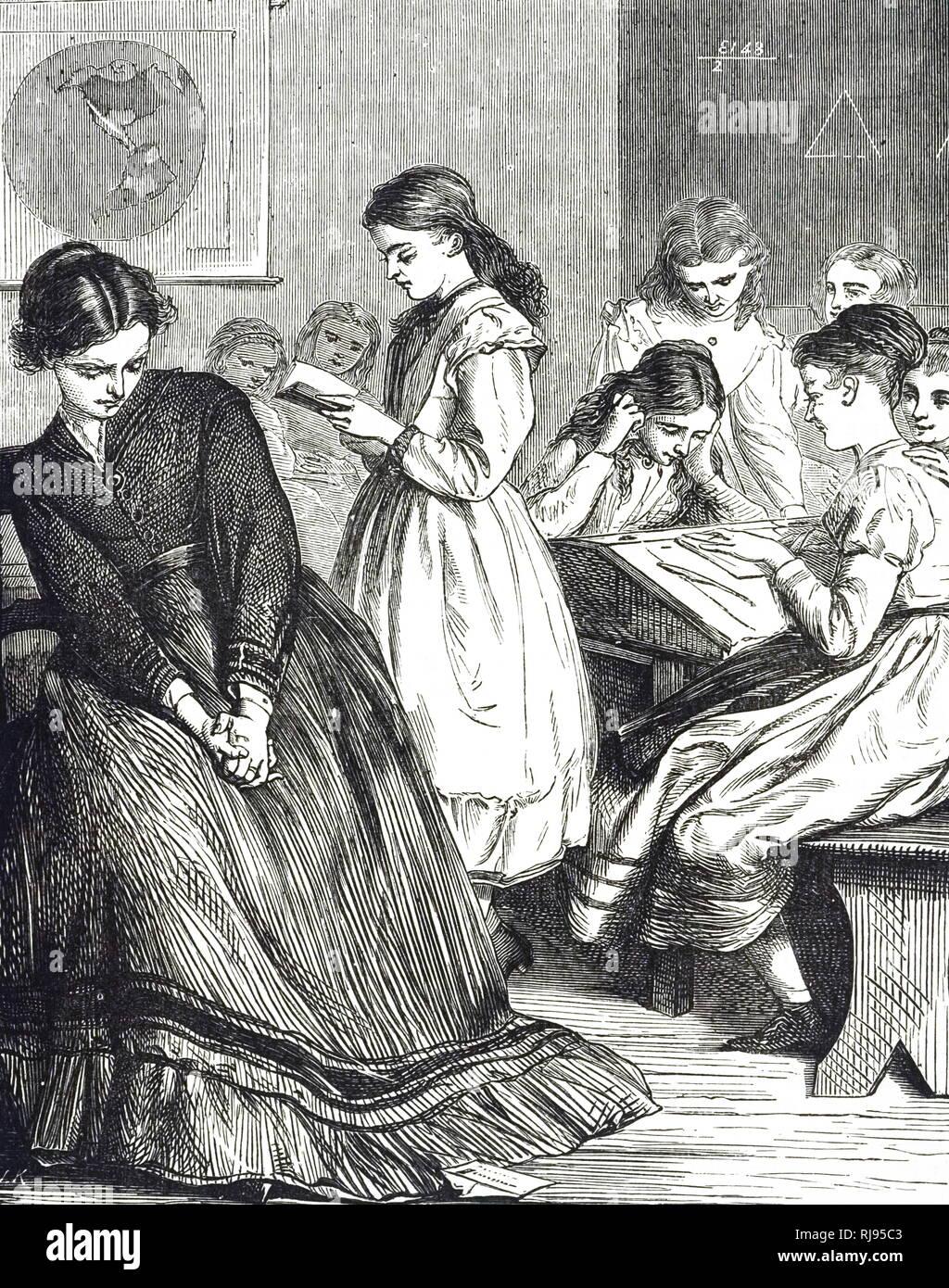 Kleid gezwungen im junge Demütigung in