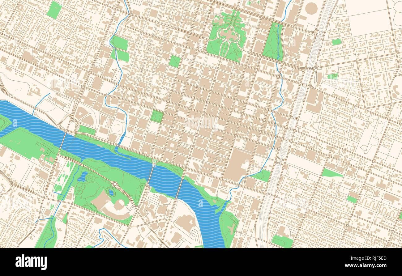 Austin Texas Karte.Austin Texas City Map Stockfotos Austin Texas City Map Bilder Alamy