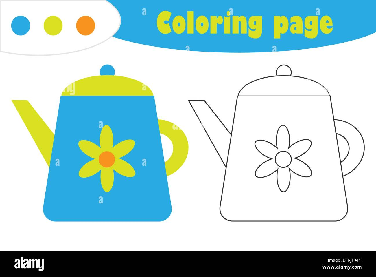 coloring page stockfotos coloring page bilder alamy. Black Bedroom Furniture Sets. Home Design Ideas