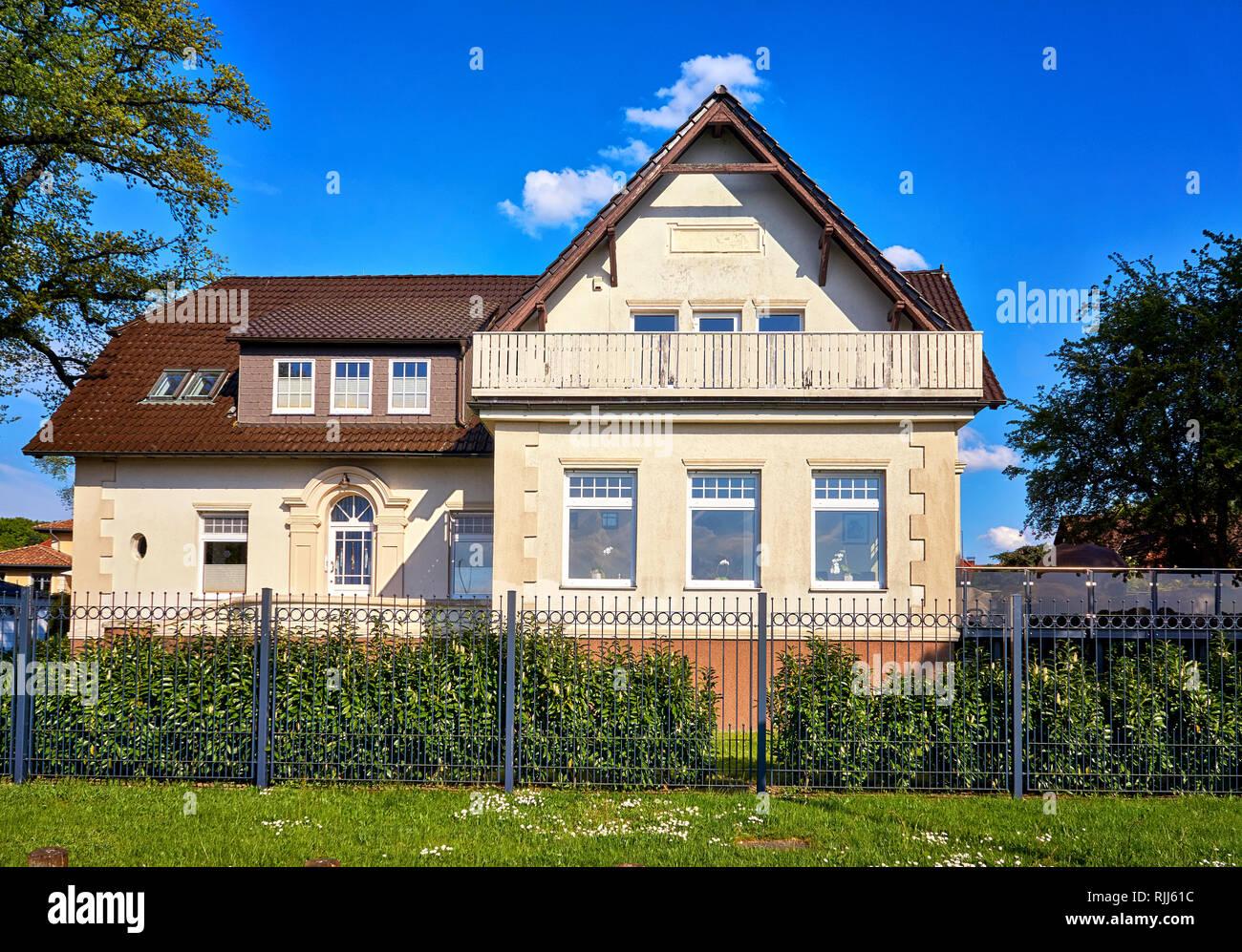 Haus Mit Balkon Aus Holz In Zippendorf Am Schweriner See