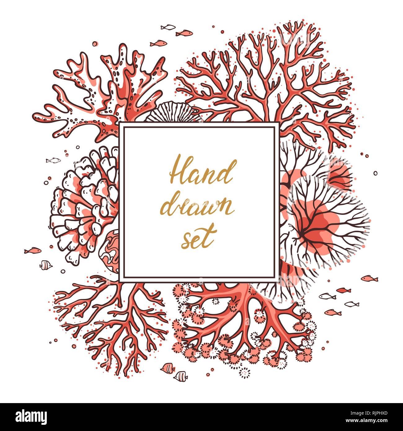 Bilderrahmen Design Vorlagen Für Postkarten Visitenkarten