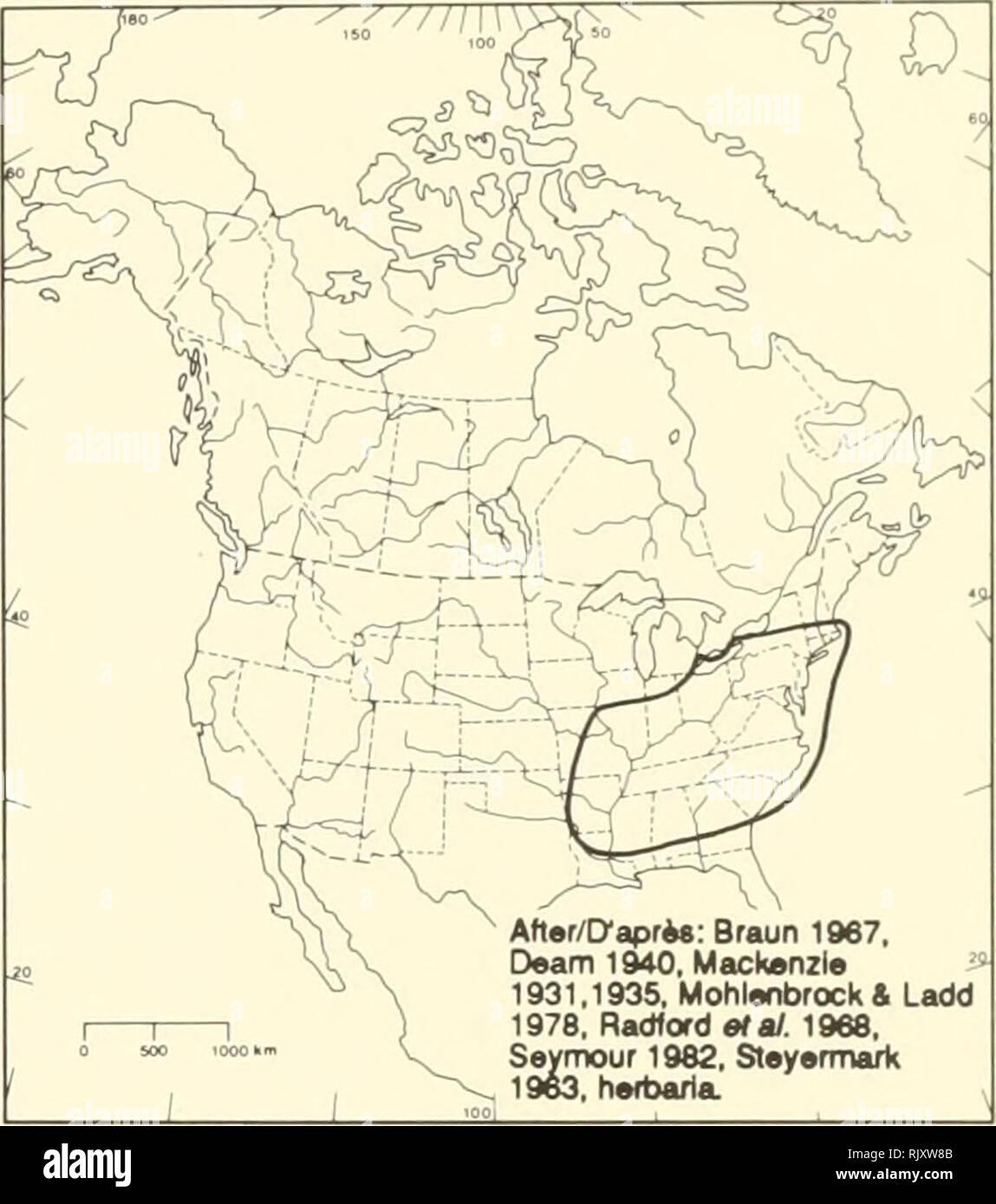6c80d0c27de9e Atlas der seltenen Pflanzen von Ontario. Seltene Pflanzen