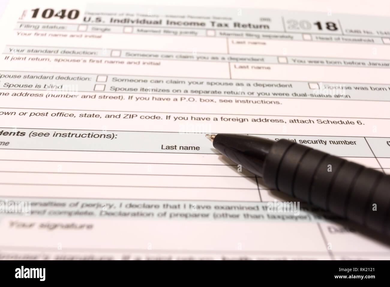 formular einkommensteuer 2018