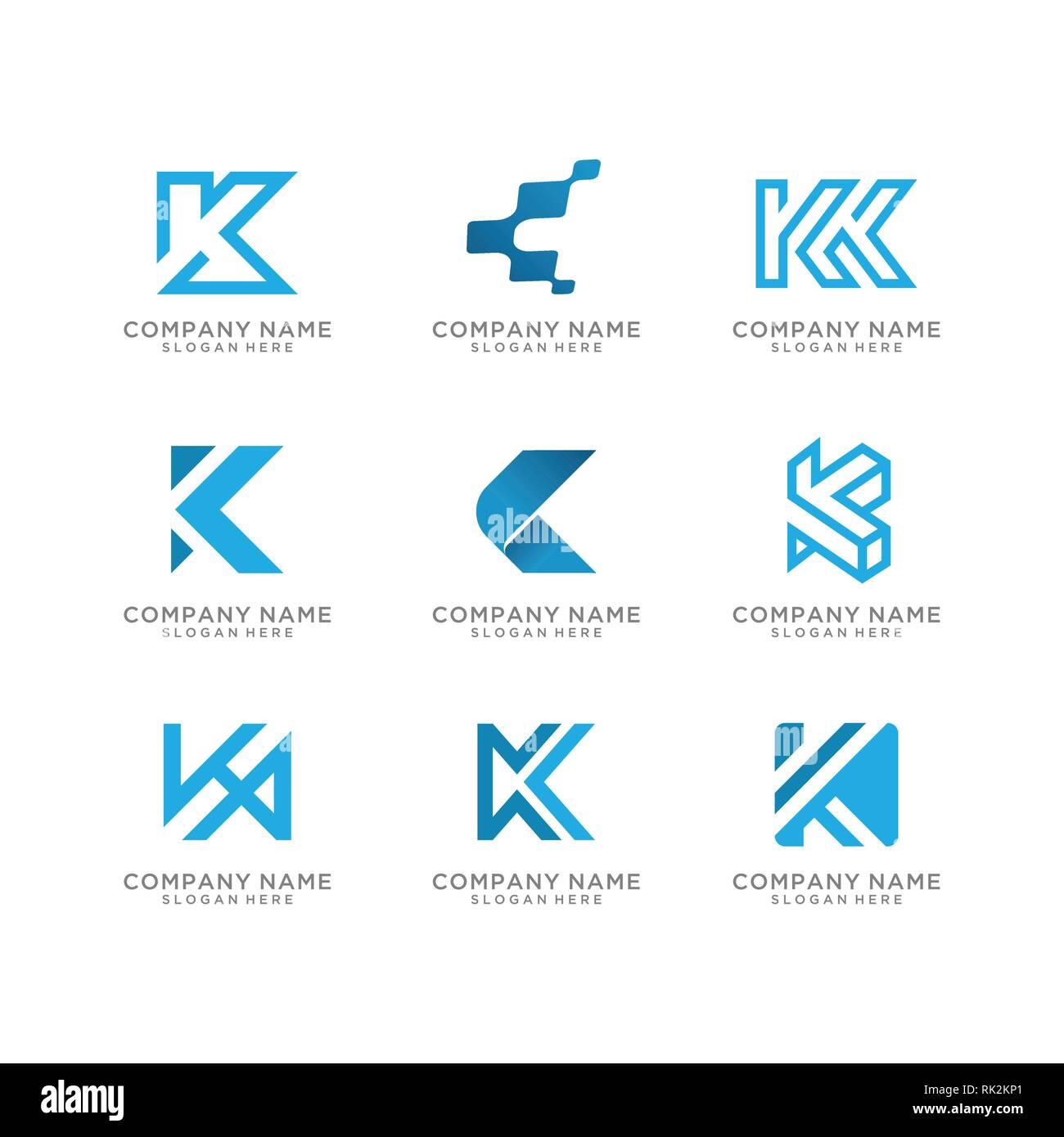 Letter K Logo Stockfotos Letter K Logo Bilder Alamy