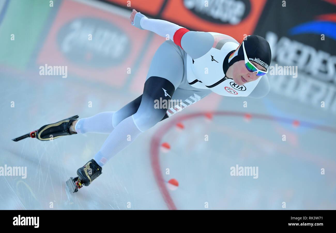 09 Februar 2019 Bayern Inzell Eisschnelllauf Wm 5000 M Damen
