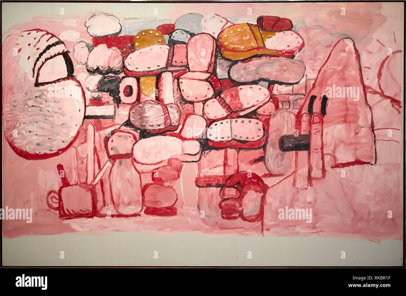 Konfrontation, 1974, Philip Guston, Museo Nacional Centro de Arte Reina Sofia, Madrid, Spanien, Europa Stockbild