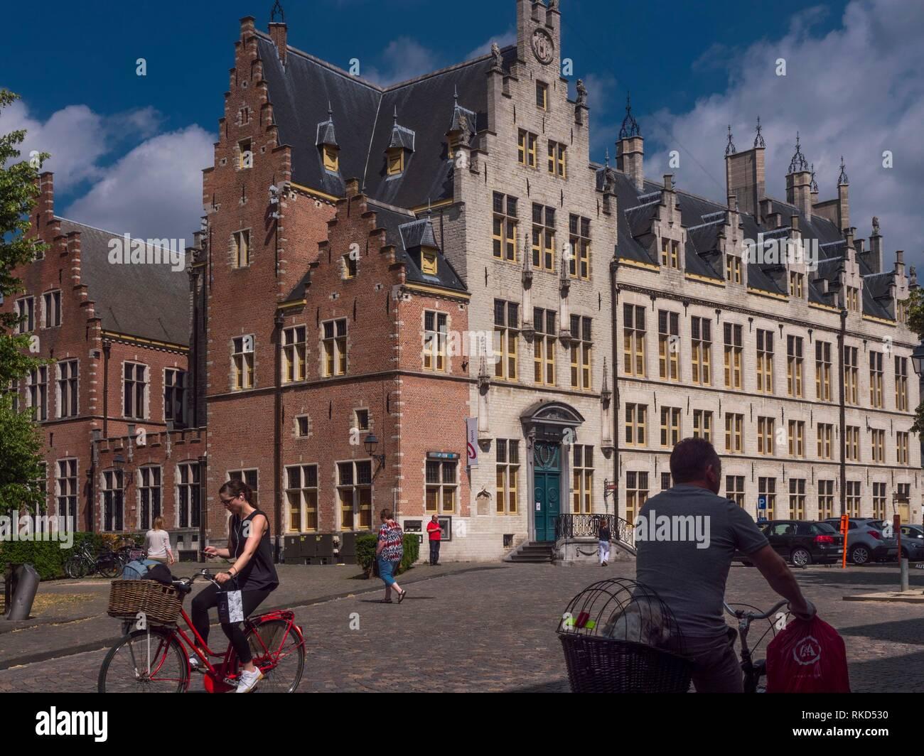Belgium-Mechelen. Mechelen (Französisch: Malines, traditionelle englische Name: mecheln) ist eine Stadt in der Provinz Antwerpen, Flandern, Stockbild