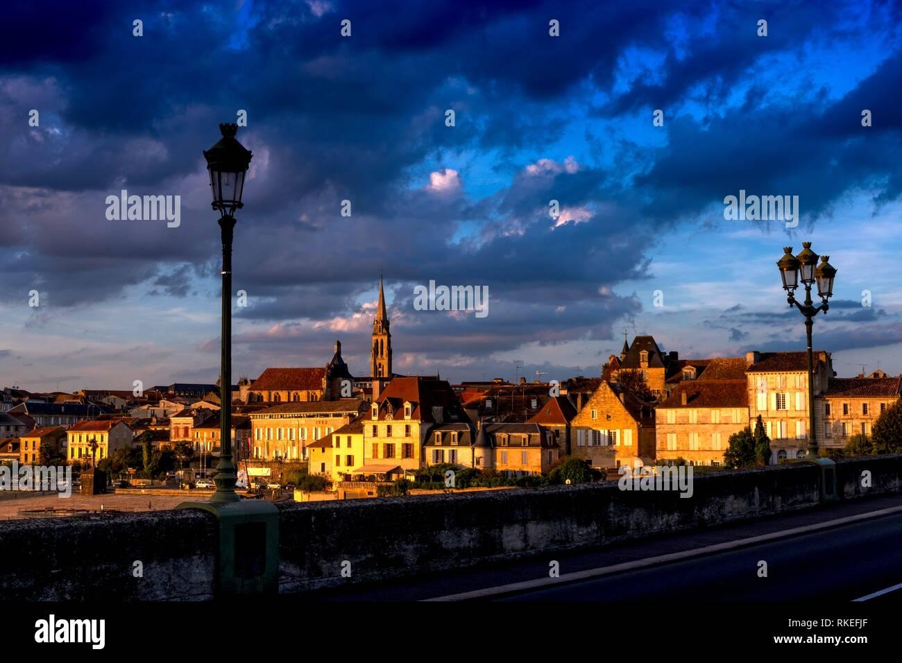 Frankreich, Nouvelle Aquitaine, Dordogne Bergerac. Stockbild