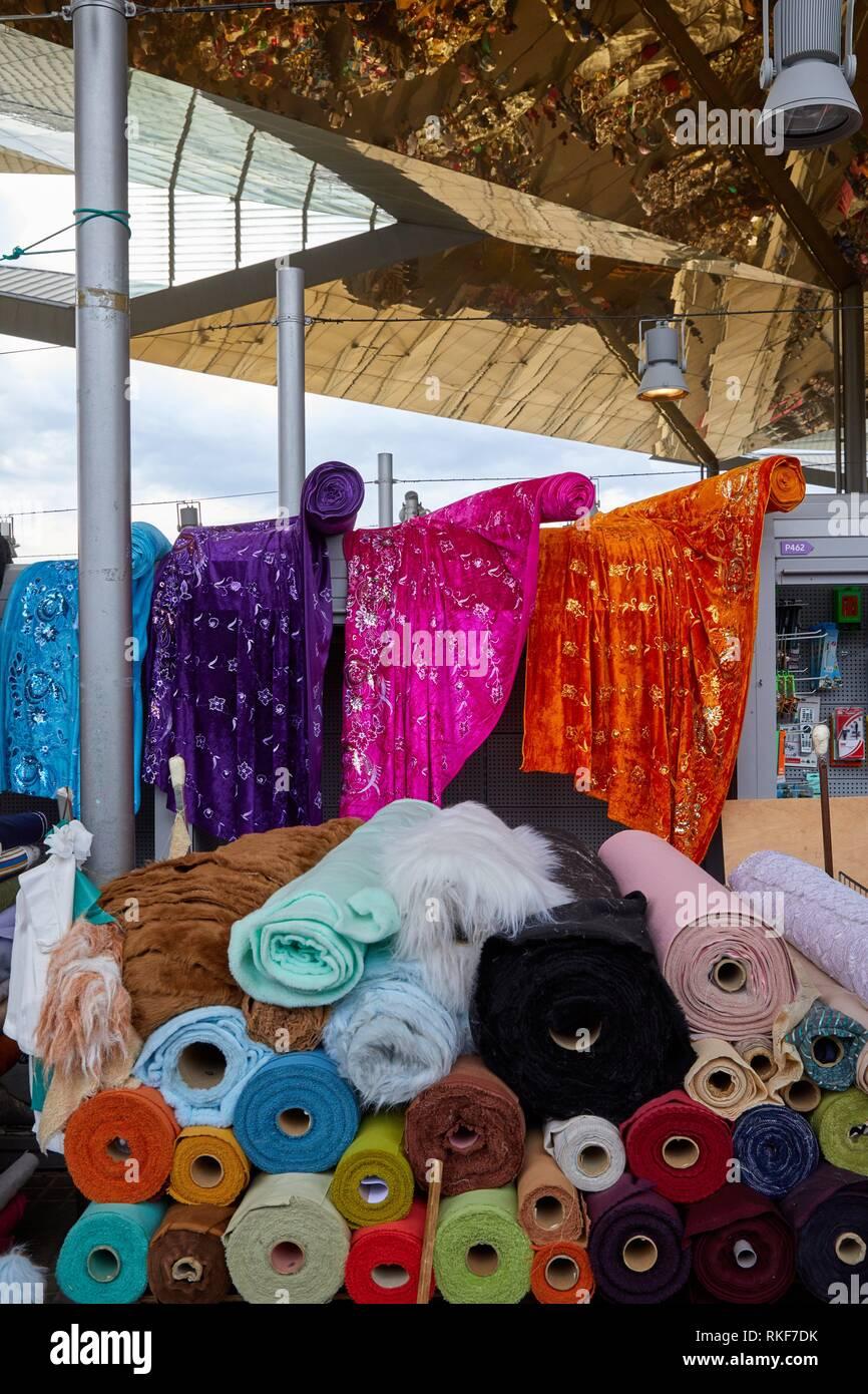 Encants Markt, Plaça de les Glòries, Barcelona, Katalonien, Spanien, Europa Stockbild