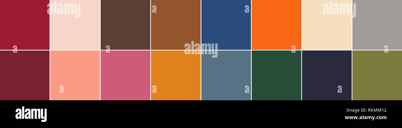 16 Pantone Farben Der Saison Herbst Winter 2019 2020