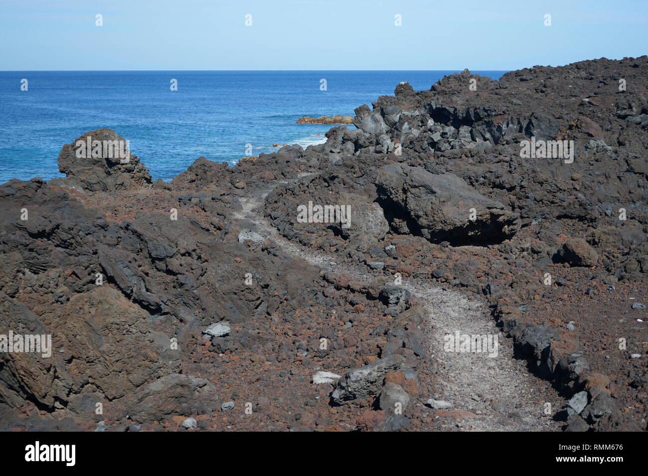 Lanzarote, Kanarische Inseln, Spanien Stockbild