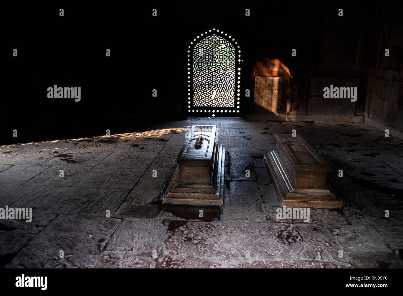 Friseur S Tomb Nai Ka Gumbad An Der Sudostlichen Ecke Von
