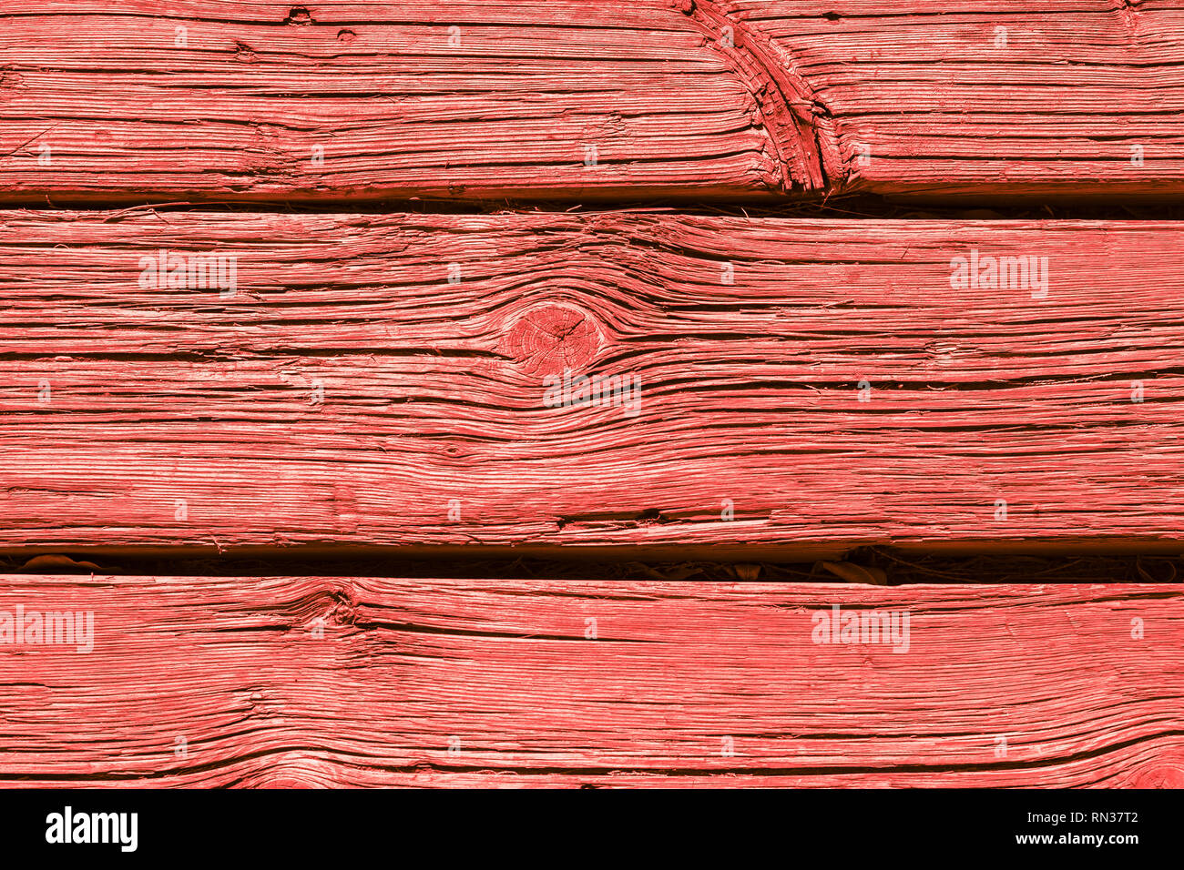 Alte Verwitterte Holzbrett Hintergrund In Lebende Korallen Holz