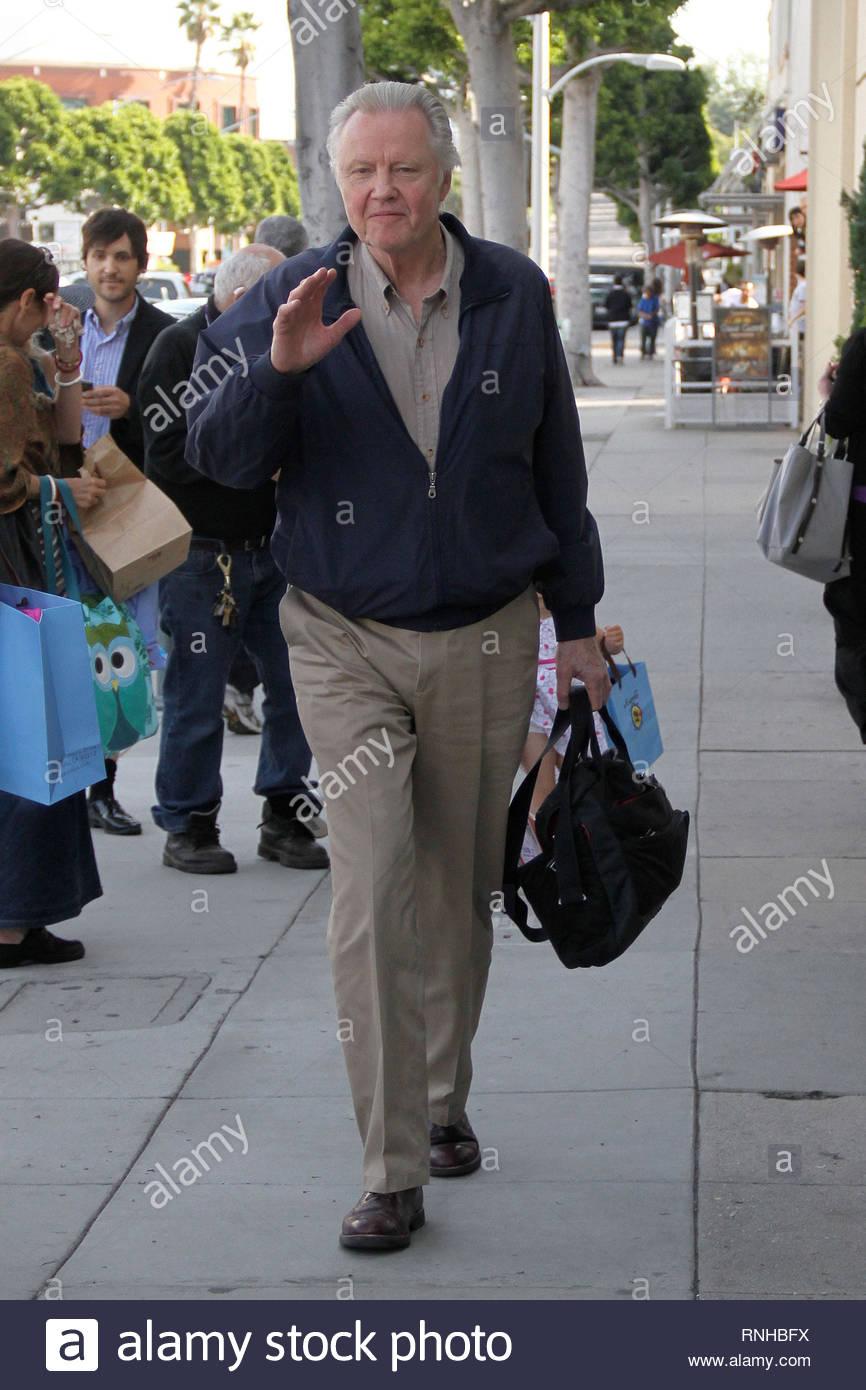 Beverly Hills Ca Schauspieler Jon Voight Sein Buro Verlasst In