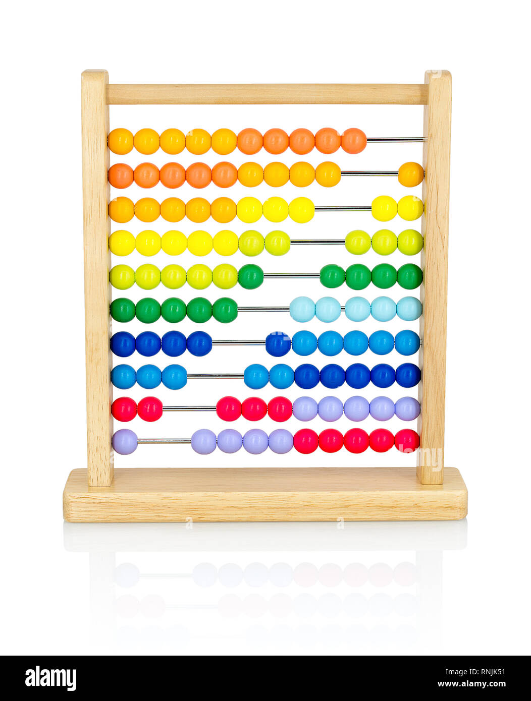 Kinder aus Holz Abakus Spielzeug Perlen Anzahl Maths Educational Kids