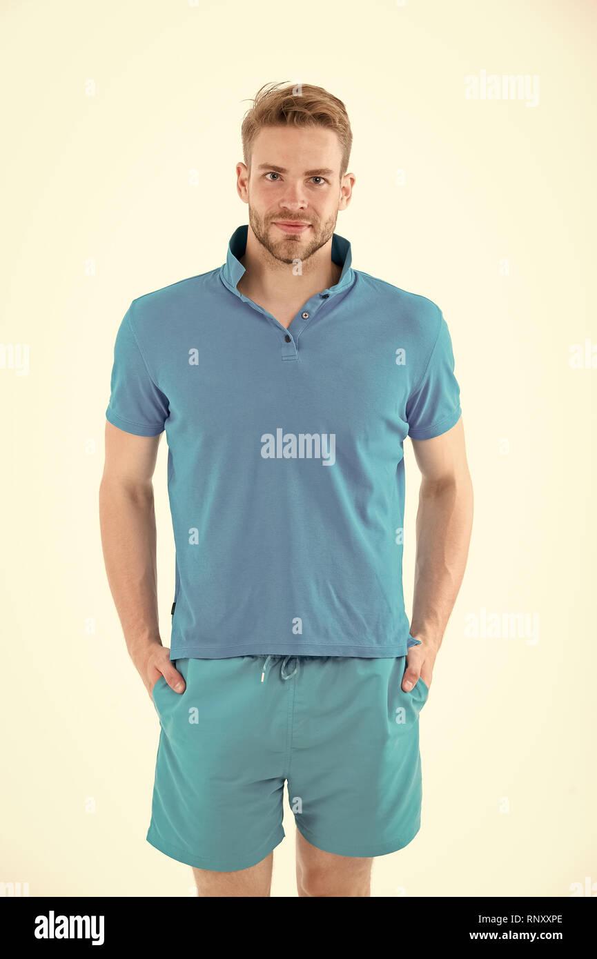 3aa6adbea04ac Men Shorts Fashion Stockfotos & Men Shorts Fashion Bilder - Alamy
