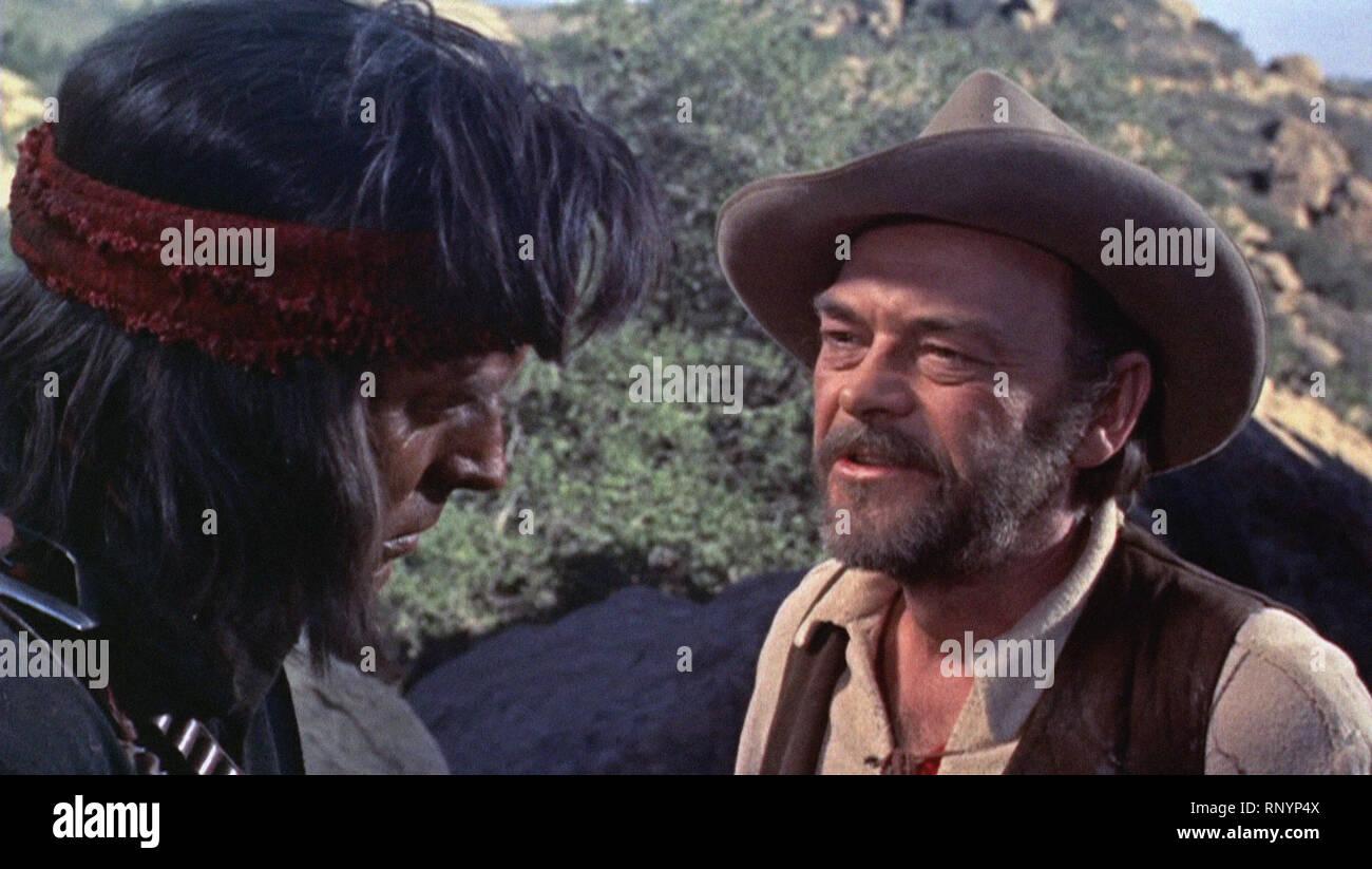 Prod DB © Hecht-Lancaster Produktionen/DR BRONCO APACHE APACHE de Robert Aldrich USA 1954 Burt Lancaster John Mcintyre. Western; Indien; Indische d'Apr. Stockbild