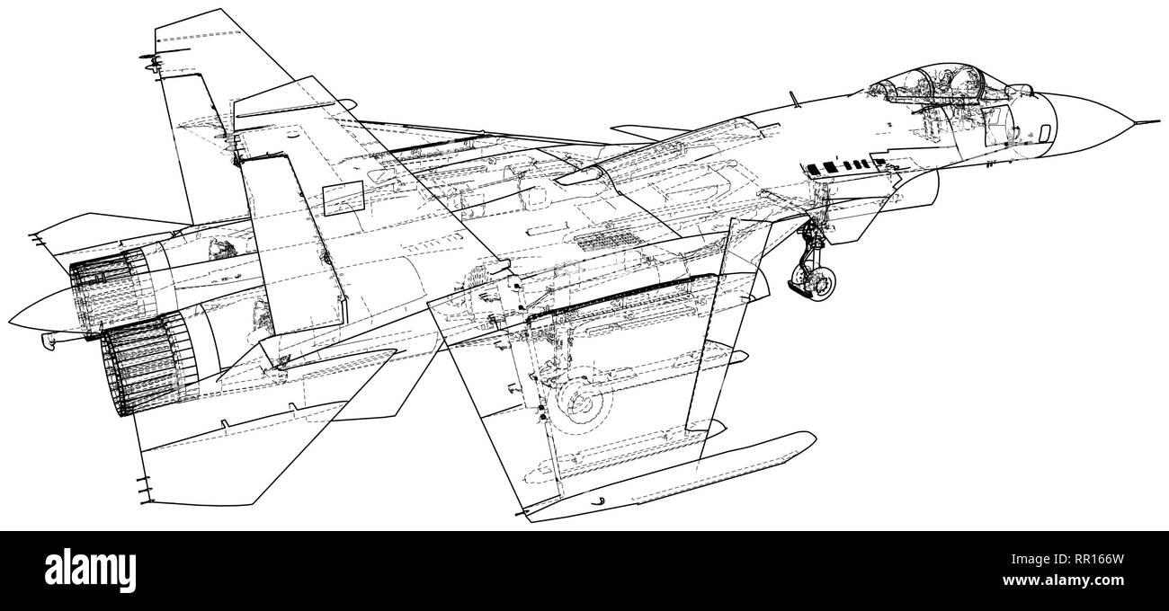 Marvelous Fighter Jet Illustration Stockfotos Fighter Jet Illustration Wiring Digital Resources Funapmognl