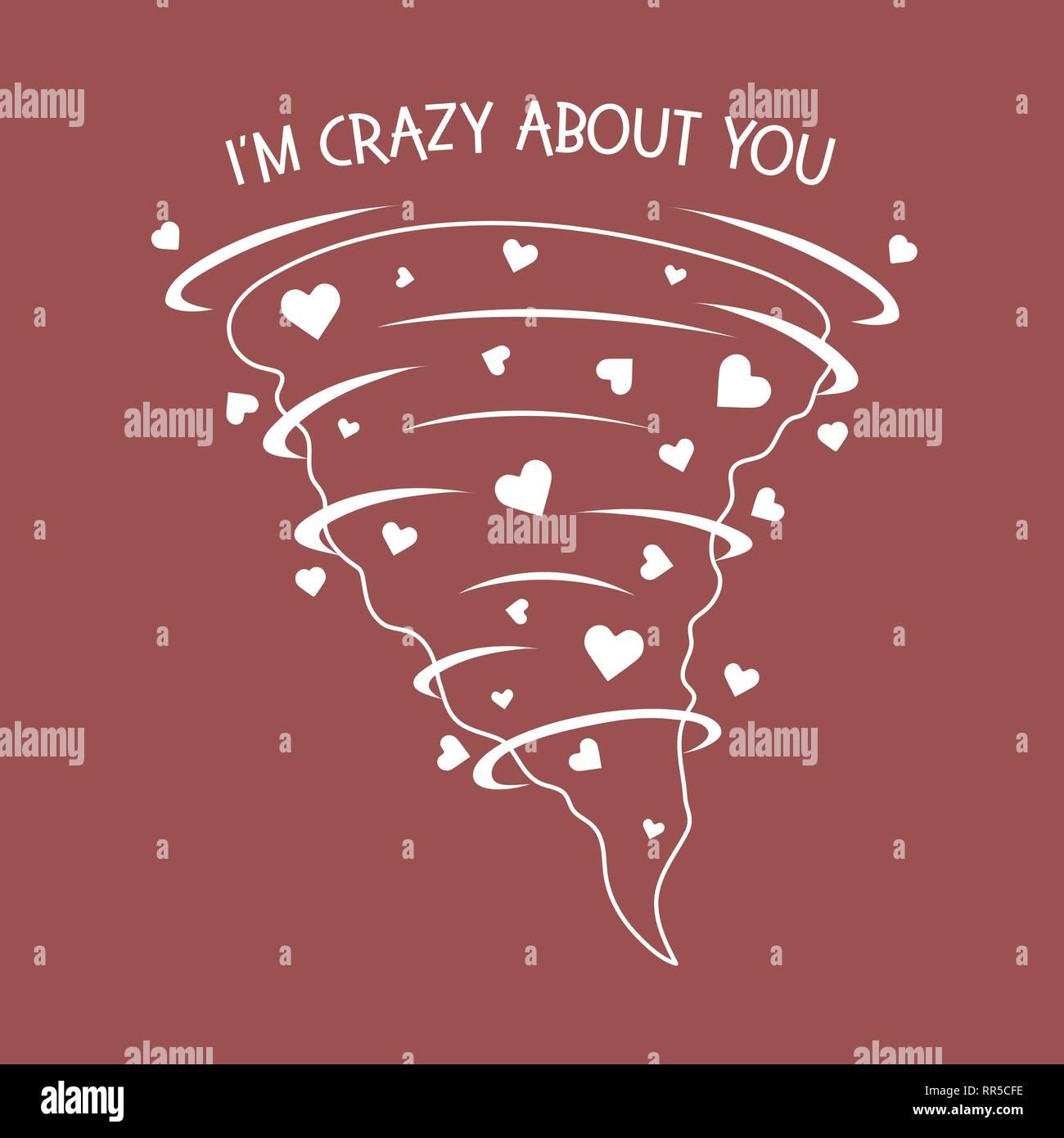 bin verrückt nach dir
