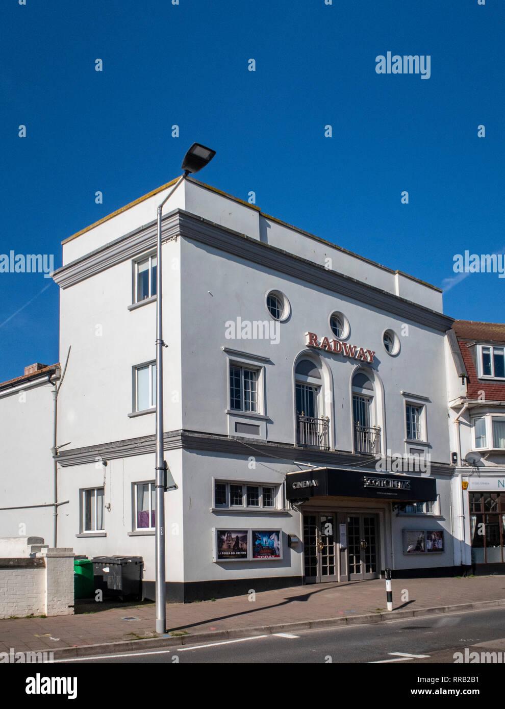 Die radway Kino, Plymouth, Devon, der Scott Kinos Gruppe. Stockbild