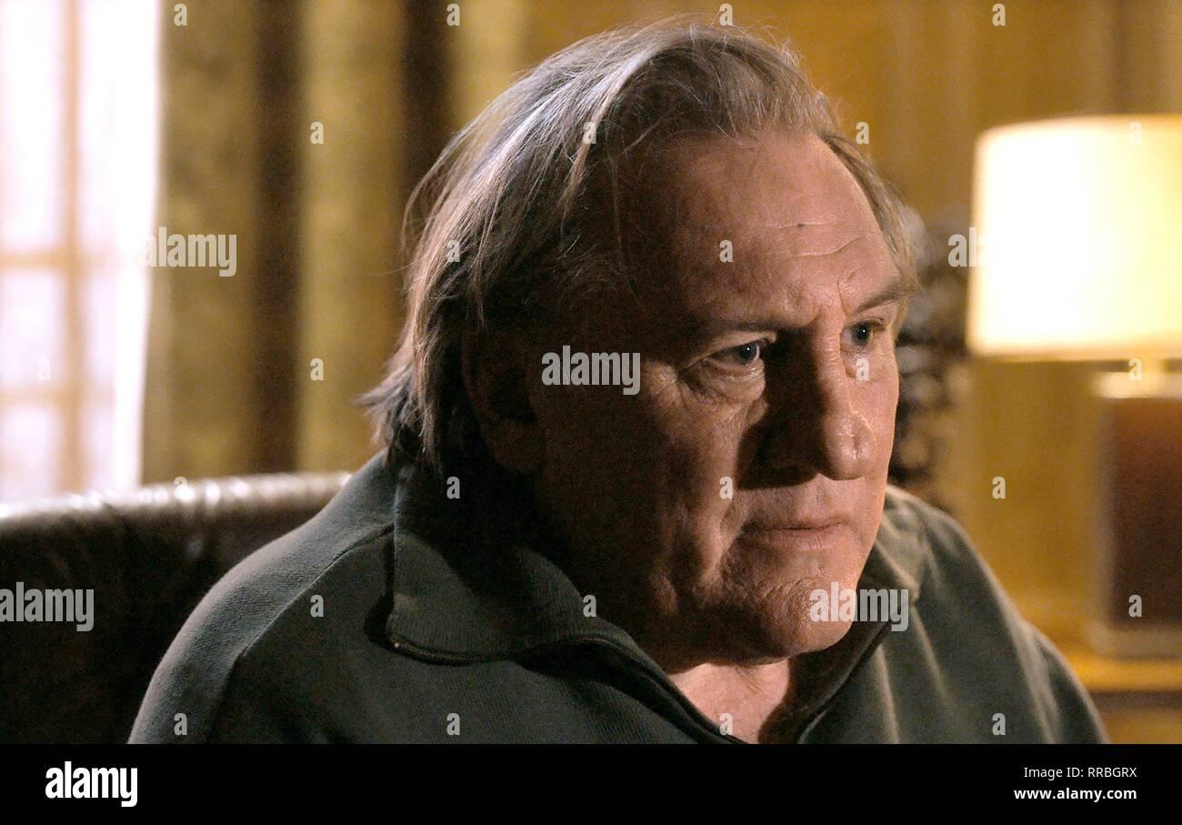 Lassen Sie die Sonne scheinen, Gerard Depardieu, 2017 Stockbild