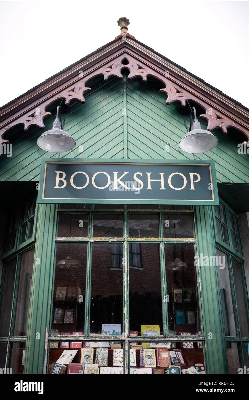 Die Buchhandlung, die Buchhandlung, 2017 Stockbild