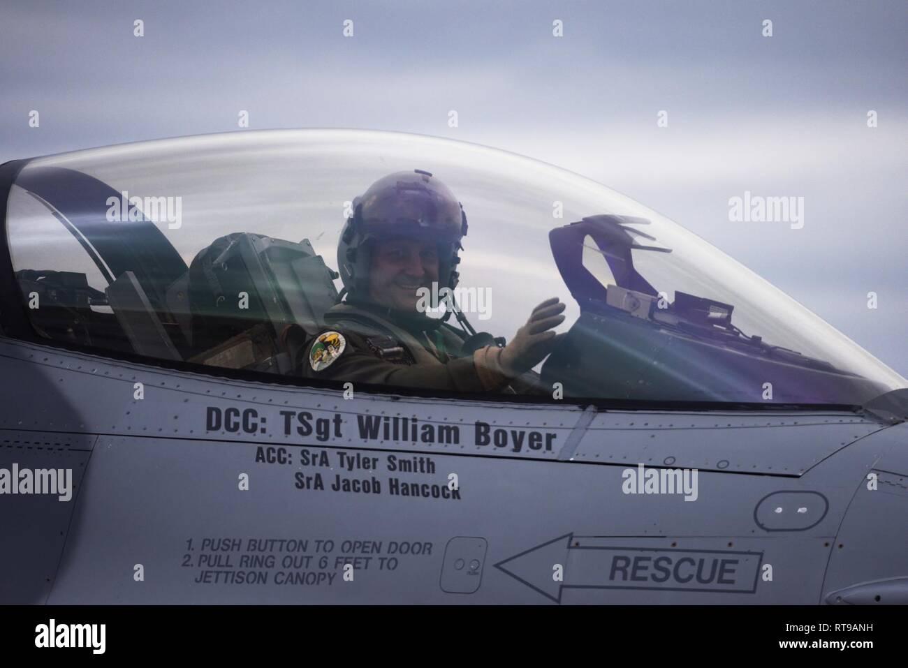 Fotografie L.a Piloten Warten Auf Ihren Einsatz Air Guard