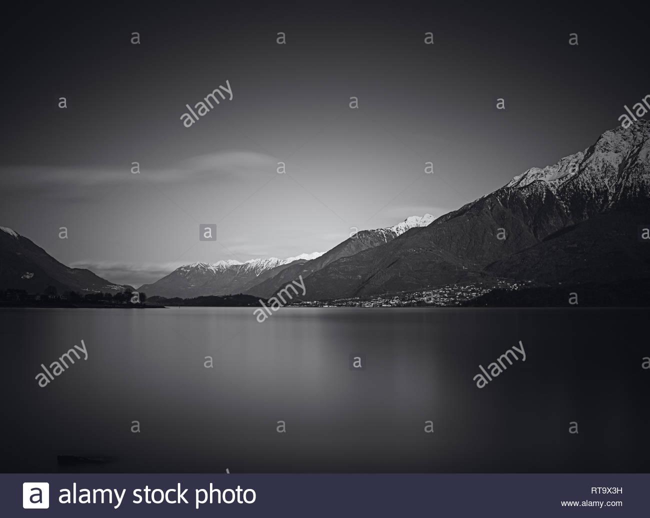 Lago di Como Stockbild