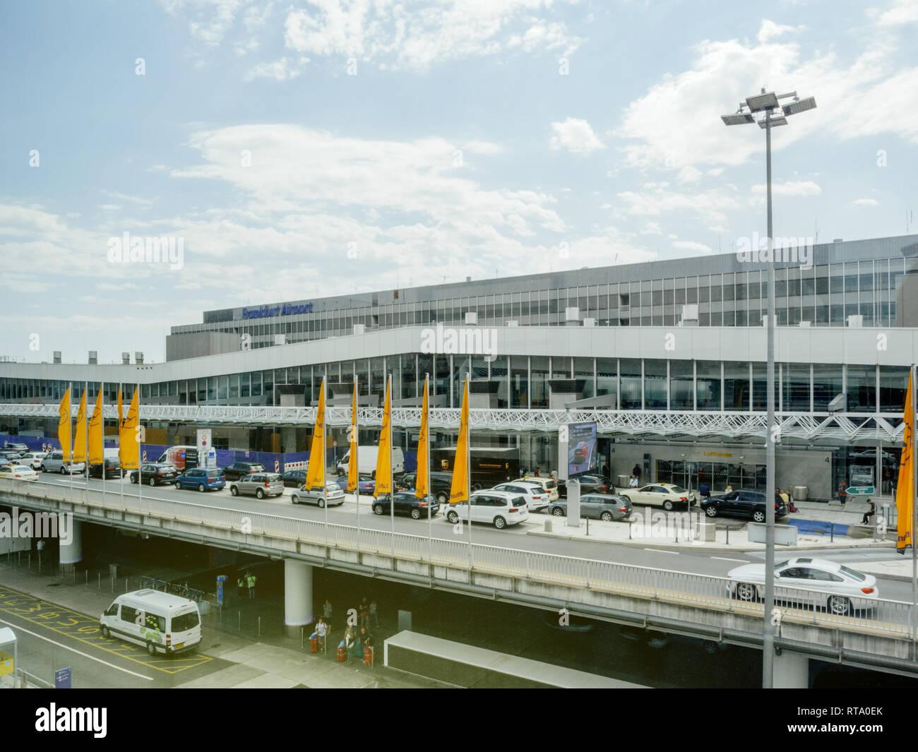 Frankfurt airport ankunft heute