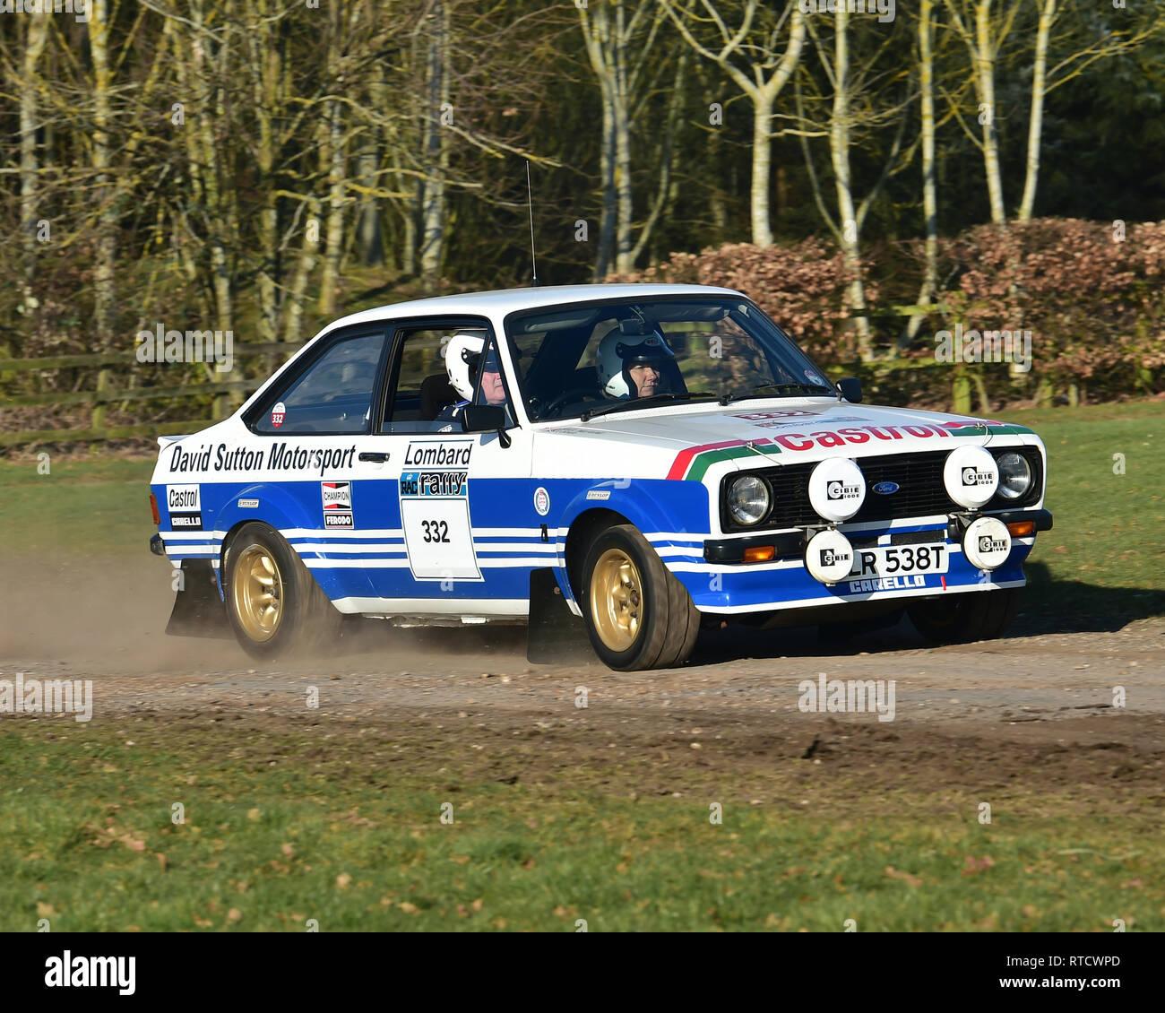 paul holmes ford escort mk2 rs 1800 rennen retro rallye sonntag