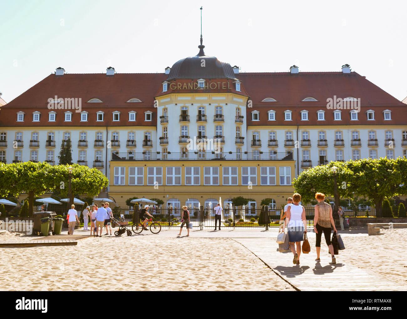 Sofitel Grand Sopot, Polen, Europa Stockbild
