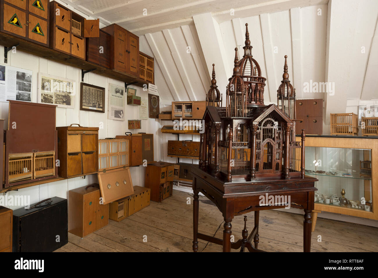 Grube Samson Bergwerksmuseum, Harzer Roller Museum, Sankt Andreasberg, Harz, Niedersachsen, Deutschland Stockbild