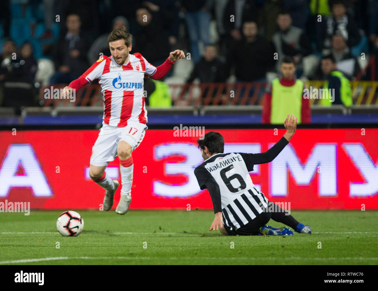 Rajko Mitic Stadion Belgrad Serbien 2 Mar 2019